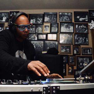DJ bringing the beats