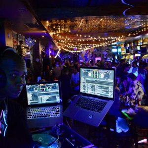 DJ party night