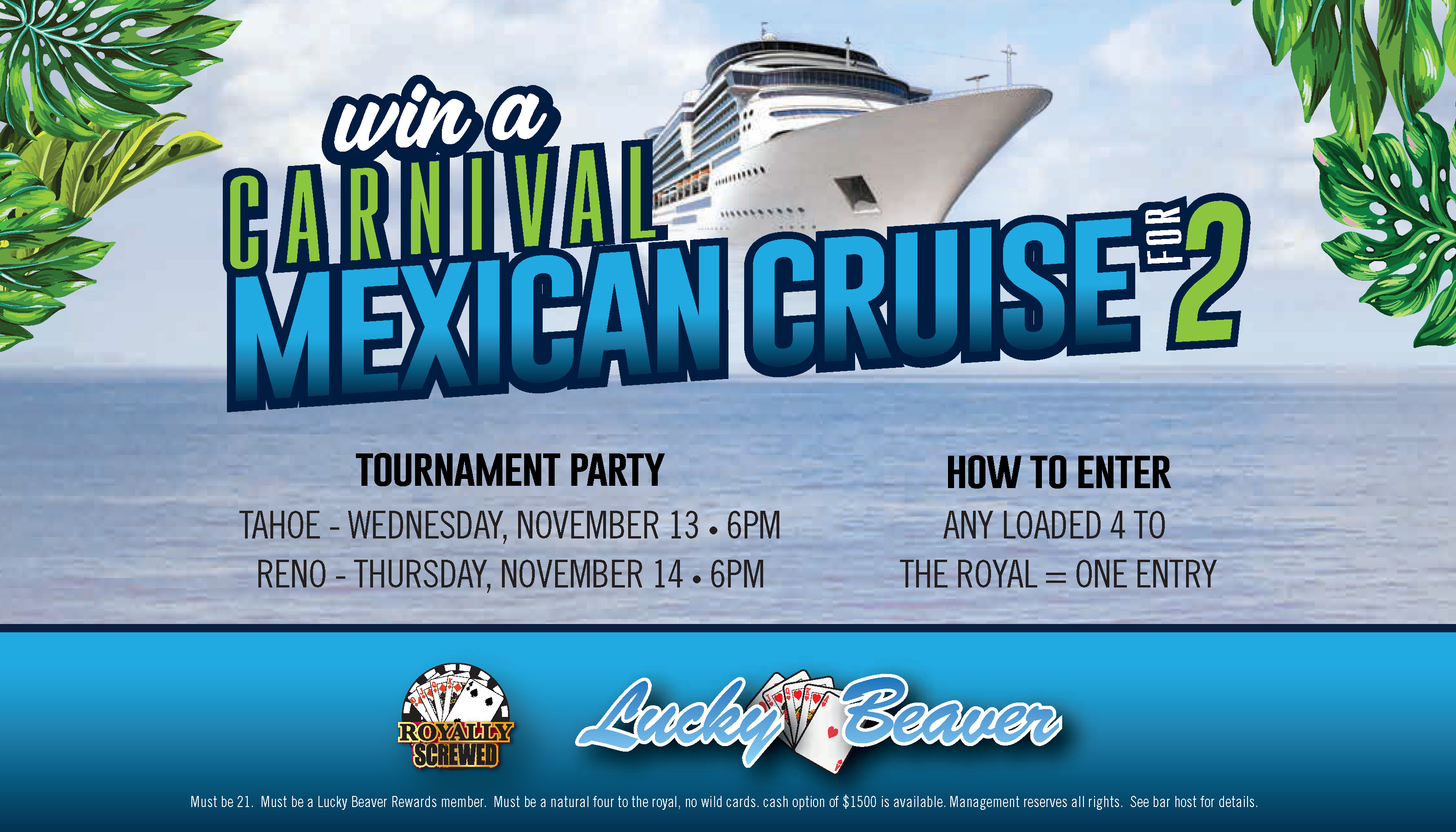 Win a Carnival Mexical Cruise for 2